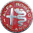 Alfa Romeo Badge 1946