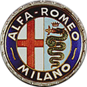 Alfa Romeo Badge 1950